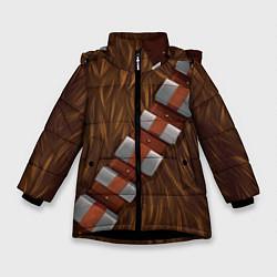 Куртка зимняя для девочки Chewbacca Costume цвета 3D-черный — фото 1