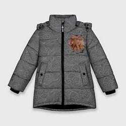 Куртка зимняя для девочки Rebel Alliance цвета 3D-черный — фото 1