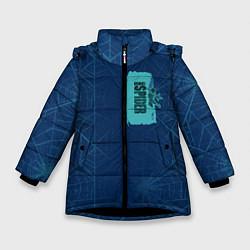 Куртка зимняя для девочки Ghost-Spider цвета 3D-черный — фото 1