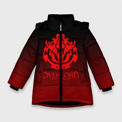Куртка зимняя для девочки OVERLORD цвета 3D-черный — фото 1