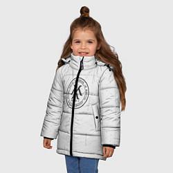Детская зимняя куртка для девочки с принтом Monsta x, цвет: 3D-черный, артикул: 10187085506065 — фото 2