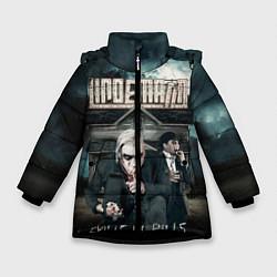 Куртка зимняя для девочки LINDEMANN: Skills in Pills цвета 3D-черный — фото 1