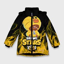 Зимняя куртка для девочки BRAWL STARS SALLY LEON