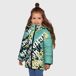 Куртка зимняя для девочки Ты крейзи - фото 2