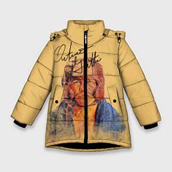 Куртка зимняя для девочки Arturo Gatti цвета 3D-черный — фото 1
