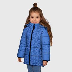 Куртка зимняя для девочки Конь БоДжек Свитер цвета 3D-черный — фото 2