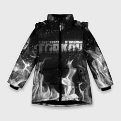 Куртка зимняя для девочки ESCAPE FROM TARKOV цвета 3D-черный — фото 1
