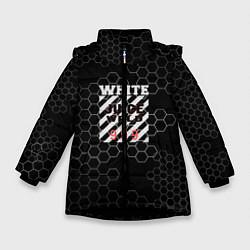 Детская зимняя куртка для девочки с принтом Juice WRLD, цвет: 3D-черный, артикул: 10213869106065 — фото 1