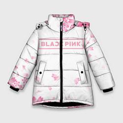 Куртка зимняя для девочки BLACKPINK цвета 3D-черный — фото 1