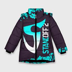 Куртка зимняя для девочки STANDOFF 2 СТАНДОФФ 2 цвета 3D-черный — фото 1