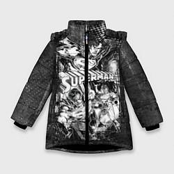 Куртка зимняя для девочки Superman - фото 1