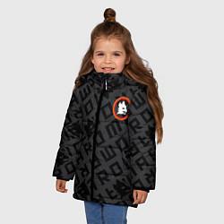 Куртка зимняя для девочки AS Roma Top 202122 цвета 3D-черный — фото 2