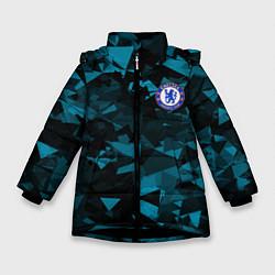 Куртка зимняя для девочки Chelsea Челси цвета 3D-черный — фото 1