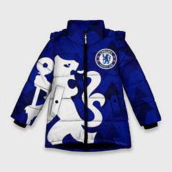 Куртка зимняя для девочки Chelsea цвета 3D-черный — фото 1