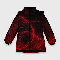 Куртка зимняя для девочки Ягуар Jaguar цвета 3D-черный — фото 1