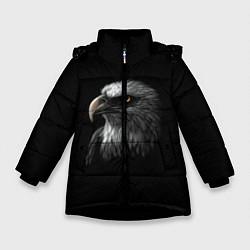 Куртка зимняя для девочки Орлан цвета 3D-черный — фото 1