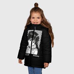 Куртка зимняя для девочки Аска ева 02 цвета 3D-черный — фото 2