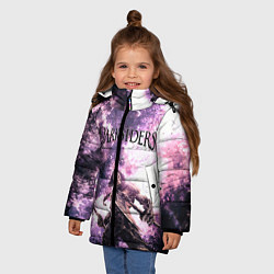 Куртка зимняя для девочки Darksiders 2 цвета 3D-черный — фото 2