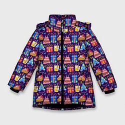Куртка зимняя для девочки День рождения - фото 1