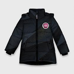 Куртка зимняя для девочки FIAT ФИАТ S цвета 3D-черный — фото 1