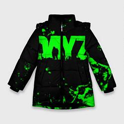 Детская зимняя куртка для девочки с принтом Dayz, цвет: 3D-черный, артикул: 10287511106065 — фото 1