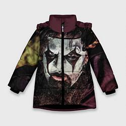 Куртка зимняя для девочки Slipknot Face цвета 3D-черный — фото 1