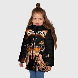 Куртка зимняя для девочки Metallica Band - фото 2