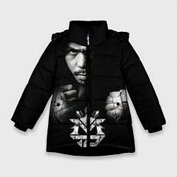 Куртка зимняя для девочки Менни Пакьяо - фото 1