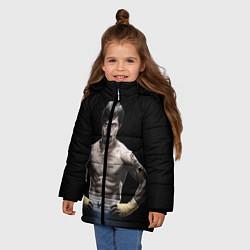 Куртка зимняя для девочки Мэнни Пакьяо - фото 2