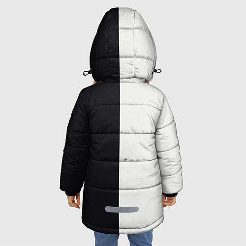 Зимняя куртка для девочки Eminem: Black & White / 3D-Черный – фото 4
