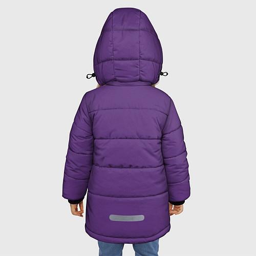 Зимняя куртка для девочки No game no life Sora / 3D-Черный – фото 4