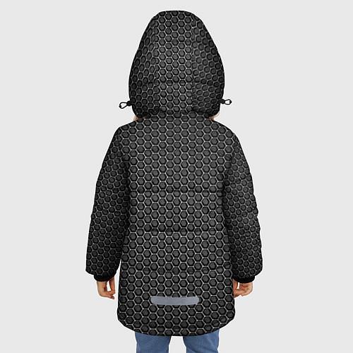 Зимняя куртка для девочки No pain, no gain / 3D-Черный – фото 4