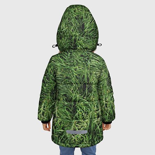 Зимняя куртка для девочки Анджелина Джоли / 3D-Черный – фото 4