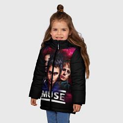 Куртка зимняя для девочки Muse Band - фото 2