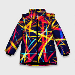Куртка зимняя для девочки Blink цвета 3D-черный — фото 1