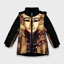 Куртка зимняя для девочки Хатшепсут цвета 3D-черный — фото 1