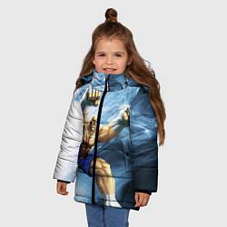 Куртка зимняя для девочки Muay Thai Rage цвета 3D-черный — фото 2