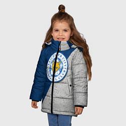 Куртка зимняя для девочки Leicester City FC - фото 2