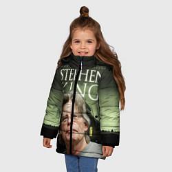 Куртка зимняя для девочки Bestselling Author цвета 3D-черный — фото 2