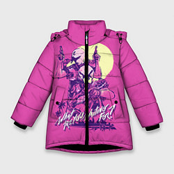 Куртка зимняя для девочки What are you waiting for? цвета 3D-черный — фото 1