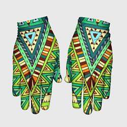 Перчатки Этно цвета 3D — фото 1