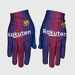Перчатки FCB: Лионель Месси цвета 3D-принт — фото 1