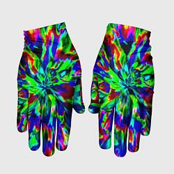 Перчатки Оксид красок цвета 3D — фото 1