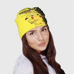 Шапка Pikachu Pika Pika цвета 3D-принт — фото 2