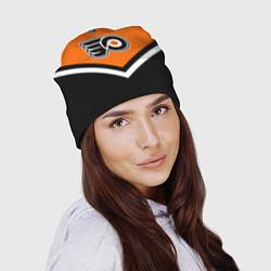 Шапка NHL: Philadelphia Flyers цвета 3D-принт — фото 2