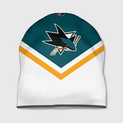 Шапка NHL: San Jose Sharks цвета 3D-принт — фото 1