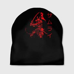 Шапка Японские иероглифы - самурай