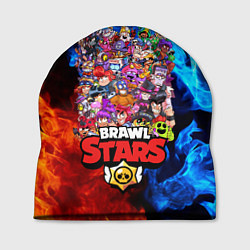 Шапка BRAWL STARS ВСЕ ПЕРСОНАЖИ цвета 3D — фото 1