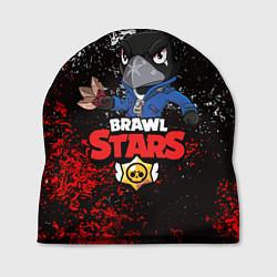 Шапка BRAWL STARS CROW цвета 3D — фото 1