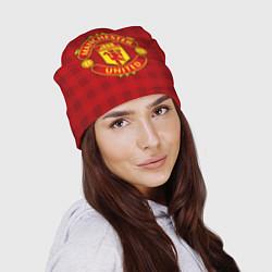 Шапка Manchester United цвета 3D — фото 2